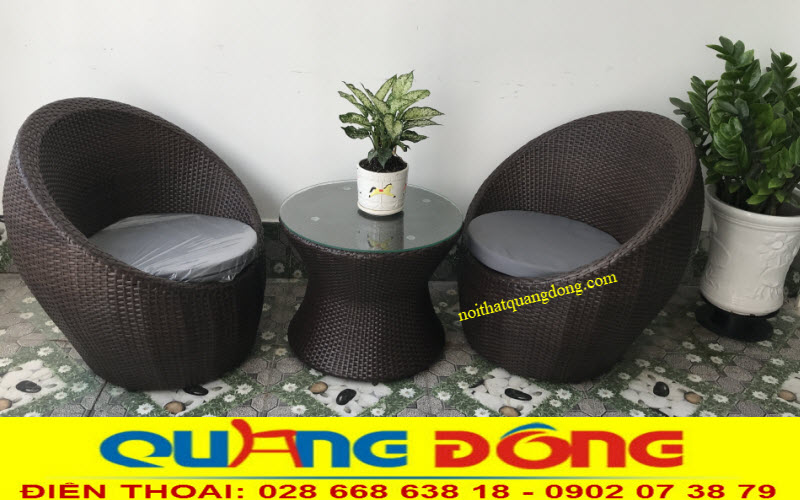 Mẫu bàn ghế cho ban công