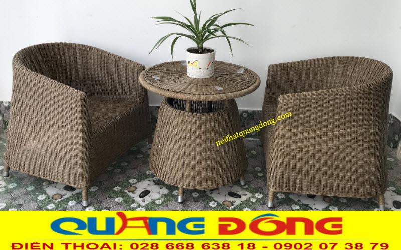 Mẫu bàn 2 ghế dùng cho ban công