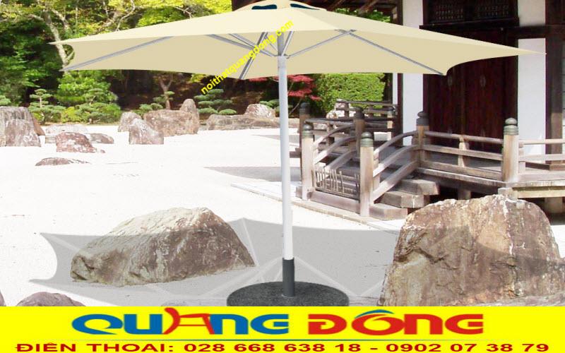 Mẫu dù đúng tâm 3 mét, ô dù che nắng cho quán cafe, nơi cung cấp ô dù